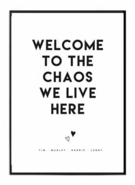 Familieposter - Chaos