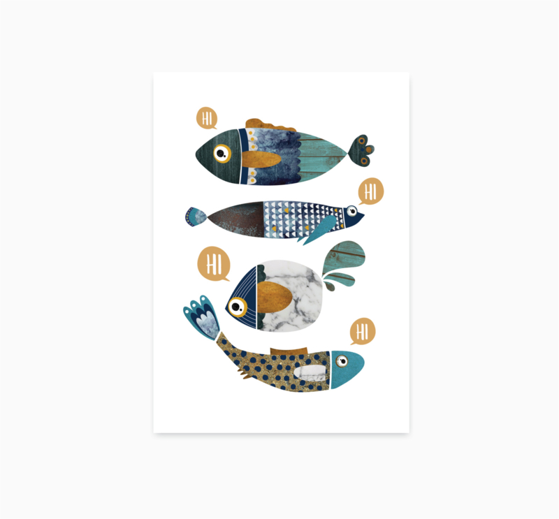 Kaart Vissen