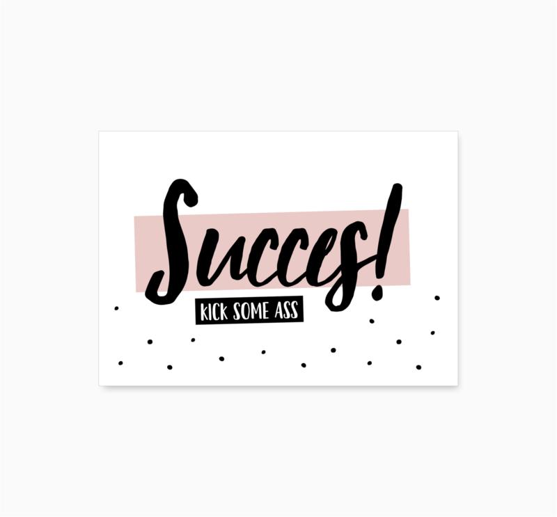 Ansichtkaart    Succes    A6