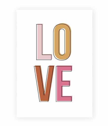 Kaart LOVE | A5