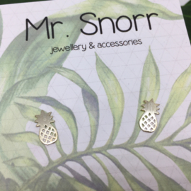 Pineapples // 925 Sterling silver