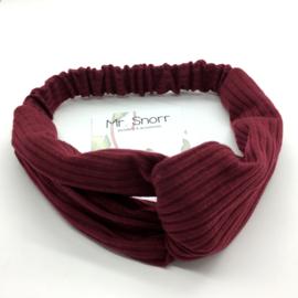 Haarband // bordeaux