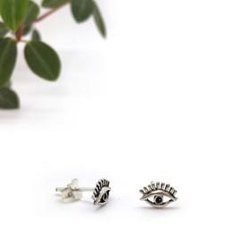 Eyes earrings // 925 Sterling silver