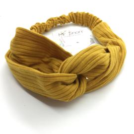 Haarband // mosterdgeel