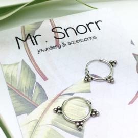 Bali style hoops // 12 mm