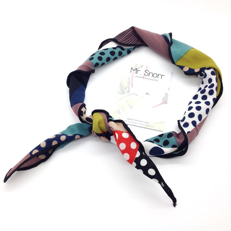 Hair scarf // haarband
