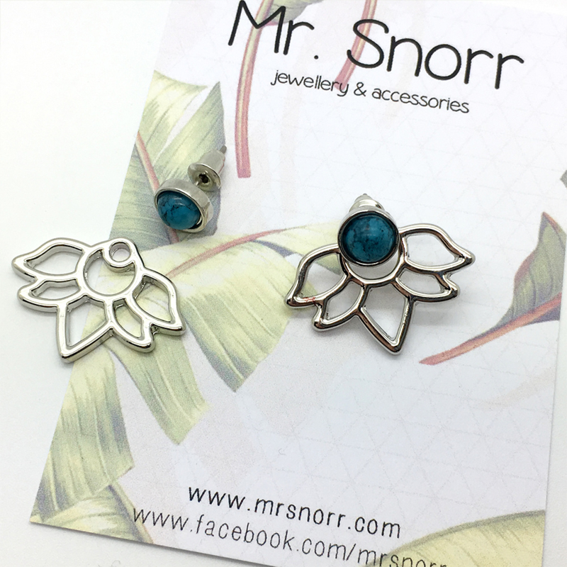 Lotus ear skirts  // silver