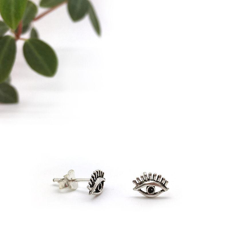 Eyes earrings // 925 Sterling silver