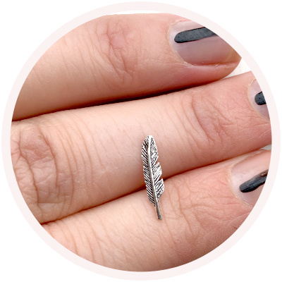Feather // 925 Sterling silver