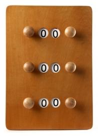 Scorebord 2 Spelers Klein