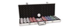Pokerset Alu Case 500 Dice