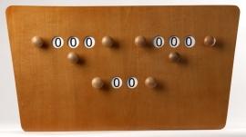Scorebord 2 Spelers Vlinder