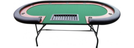 Poker Table High 208 X Black