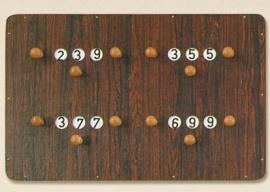 Scorebord Groot
