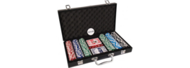 Pokerset Leather Case 300