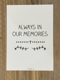 Always in our memories