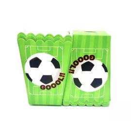 Voetbal popcorndoos