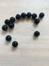 Acryl 8 mm 50 stuks zwart