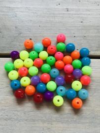 Gekleurde ronde kralen