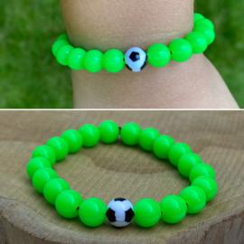 Voetbal armbandjes diverse kleuren