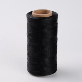 Waxkoord zwart per 10 meter