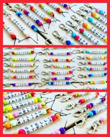 Sleutelhanger-Hippe kleuren