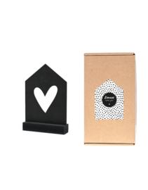 Zomaar, een cadeautje: Huisje met hartje