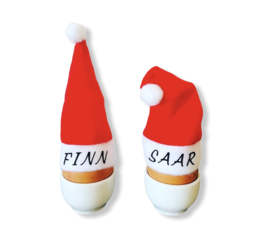 kerstmutsen met naam