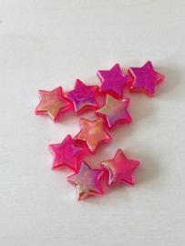 25 sterren 11x4mm Rood