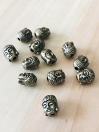 messingkleur  1 Buddha 9 mm hoog