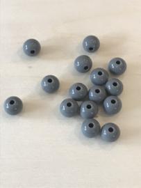 Acryl 8 mm grijs 50 stuks