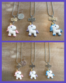 BFF SET UNICORN 3 friends