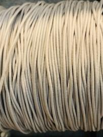 elastisch koord: Wit per  10 meter