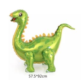 Dino groen folieballon