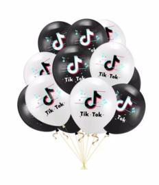 10x tiktok ballonnen mix
