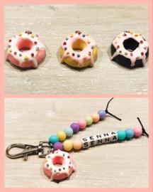 Sleutelhanger-Donut