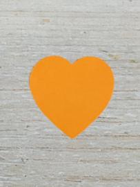 Sticker hart Oranje