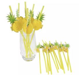 Ananas rietjes