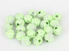 Swirl groen 50 stuks 8 mm