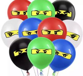 10x ballonnen