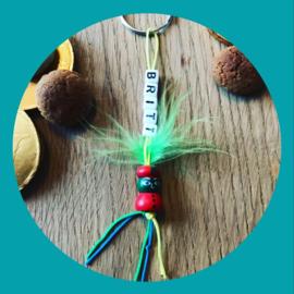 Sleutelhanger Piet random met naam