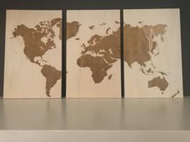 3 Luik wereldkaart
