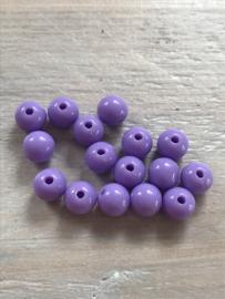 Acryl 8 mm 50 stuks paars