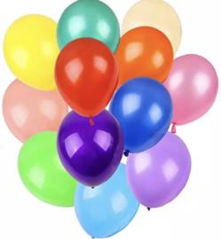 10x mix latex ballonnen