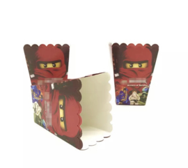 Ninja Lego popcorndoos