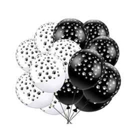 10x dieren pootjes  ballonnen  mix