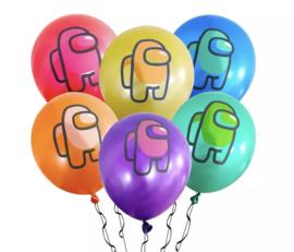 15x AMONG US ballonnen