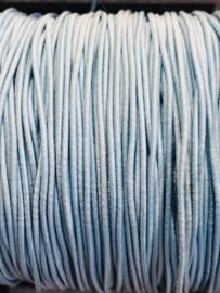 elastisch koord: Lichtblauw per 10 meter