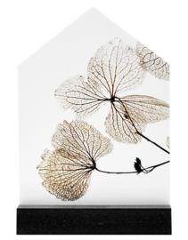 Iets moois voor thuis: Huisje met gedroogde bladeren