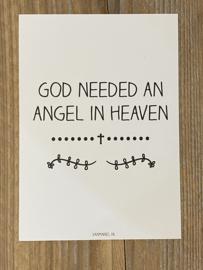 God need an angel..